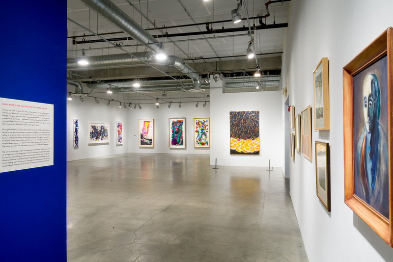 Painting exhibit