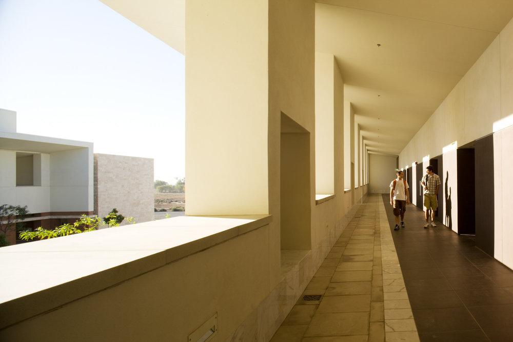 Second floor loggia