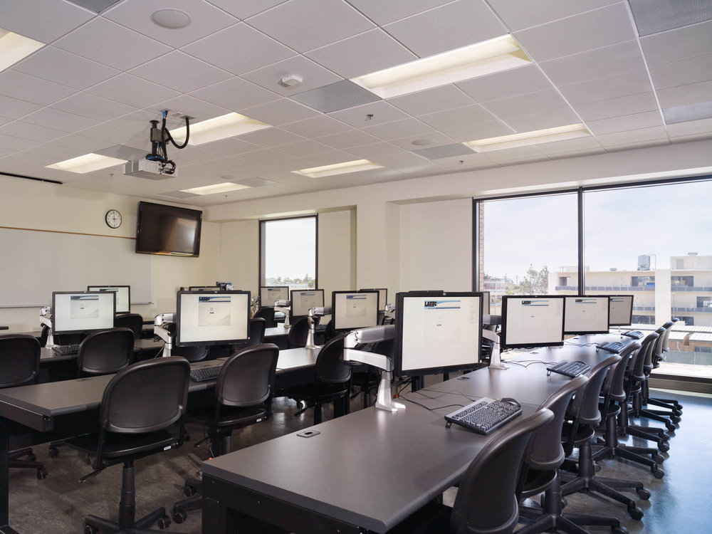Technology Classroom Building computer lab
