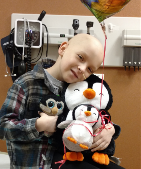 AJ  Aj was diagnosed in April of 2015 with neuroblastoma and has been through many chemo courses, radiation, surgeries, and the like. Wade's Army provided financial support to his family for transportation during his treatments.