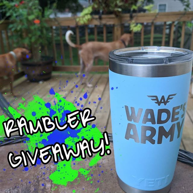 Spread awareness and win a Wade's Army @yeti Rambler by rocking your uniform on #JoinTheFightFriday!  September is Childhood Cancer Awareness Month! Share awareness with your friends and family by posting a pic of your Wade's Army uniform tomorrow!  Entering to Win is easy:  1) Rock your Wade's Army uniform Friday, 9/21/18 2) Snap a photo and post it on@Instagram 3) Tag@wadesarmyand include the hashtags:#wadesarmy,#LeadTheCharge, and#JoinTheFightFriday  Don't have a Wade's Army uniform?  Head togive.classy.org/wadeto grabyours today!  You can also grab a rambler by signing up to fundraiser and crossing the $1000 mark. Head togive.classy.org/wadeand click 'Become A Fundraiser' then select the initiative you want to support:  1. International Neuroblastoma Research Initiative 🔬 2. Direct financial support of family battling neuroblastoma 👪 3. Green Kitchen in Children's Hospital🥦 4. Wade's Army operation costs 👷  LINK IN BIO  #wadesarmy#LeadTheCharge#battleneuroblastoma#NervesofSteel#UseYourPowerForGood#wadesday#jointhefight#neuroblastoma#awareness#pediatriccancer#morethan4#GoGold🎗️ #YETI🎗️