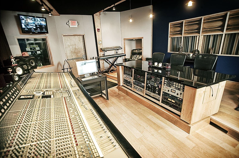 Need a Bigger Room? - Check out our friends across the hall in Studio A. Studio A features one of Atlanta's premier control rooms along with a massive live room and wide selection of outboard gear and instruments.For more information, please contact: andrew@hereirproductions.com