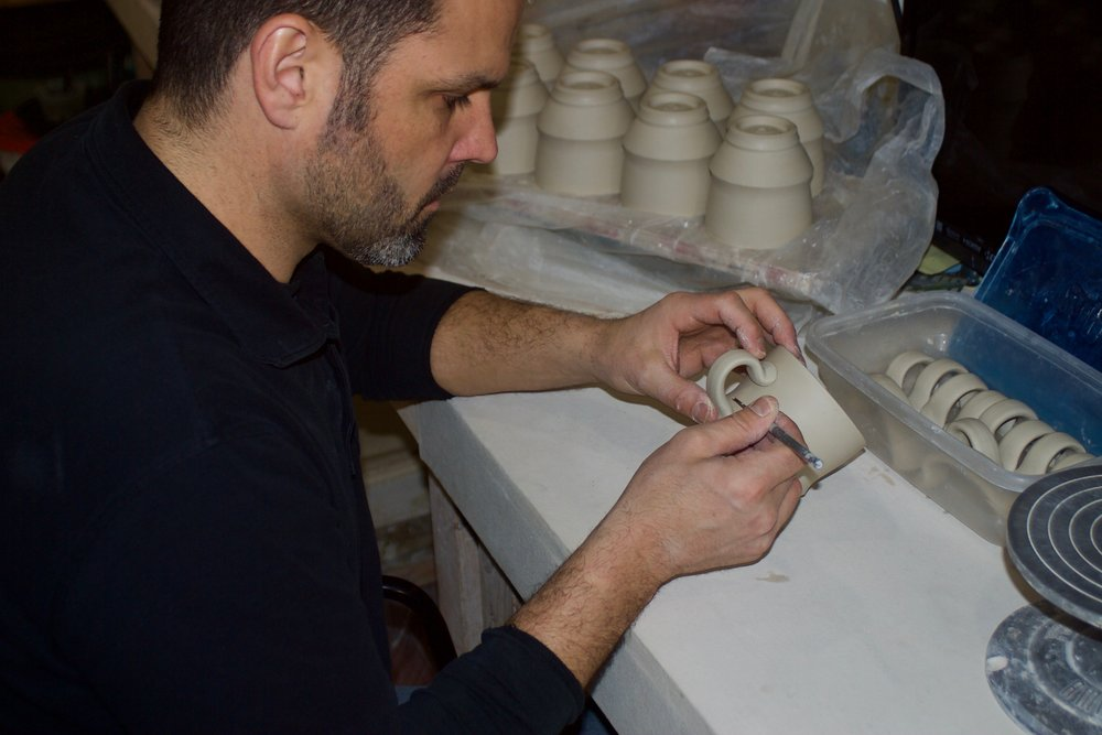 Ryan J. Greenheck - Greenheck Ceramics Studio2019 N. 33rd Street, Philadelphia, PA 19121Ryan received his Master of Fine Arts degree from SUNY College of Ceramics at Alfred University in 2004. He also received a Bachelor of Fine Arts degree as well as a Bachelor of Science degree from The University of Wisconsin-Stout in 2002. He has participated in numerous national juried exhibitions and invitational shows since 2000. His work is represented in many galleries throughout the country. Ryan currently is a practicing studio potter and Lecturer at the University of Pennsylvania.