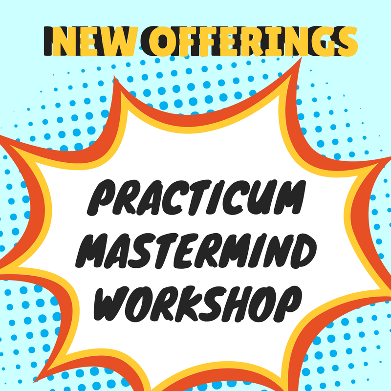 New Offerings Through Leadership Connection - Kathleen Schafer and Maria Prichard are bringing new programming to the public in the form of 3 new offerings, click through to learn more:PracticumMastermind GroupsWorkshops