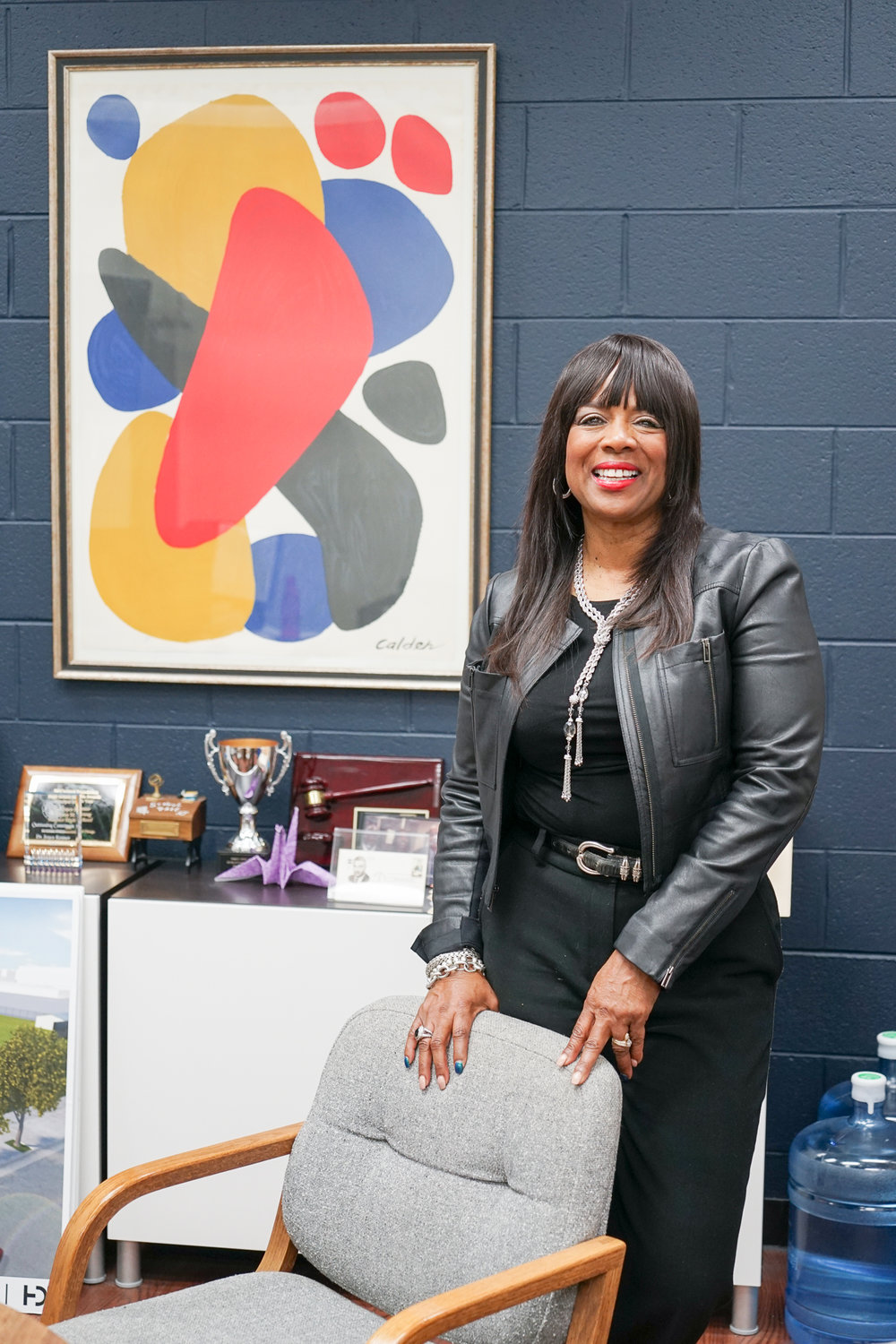 Dr. Joyce Kenner, Whitney M. Young Magnet High School