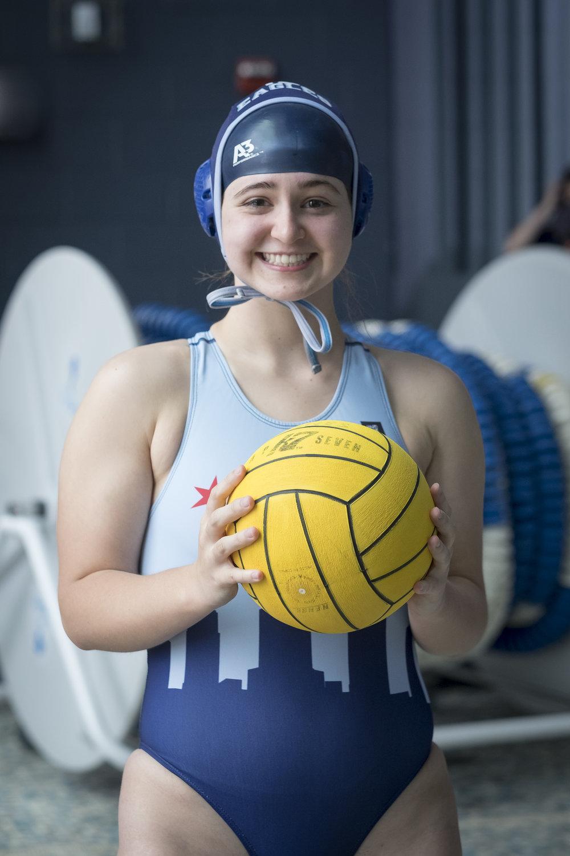 Jones College Prep Water Polo, Michelle Keim