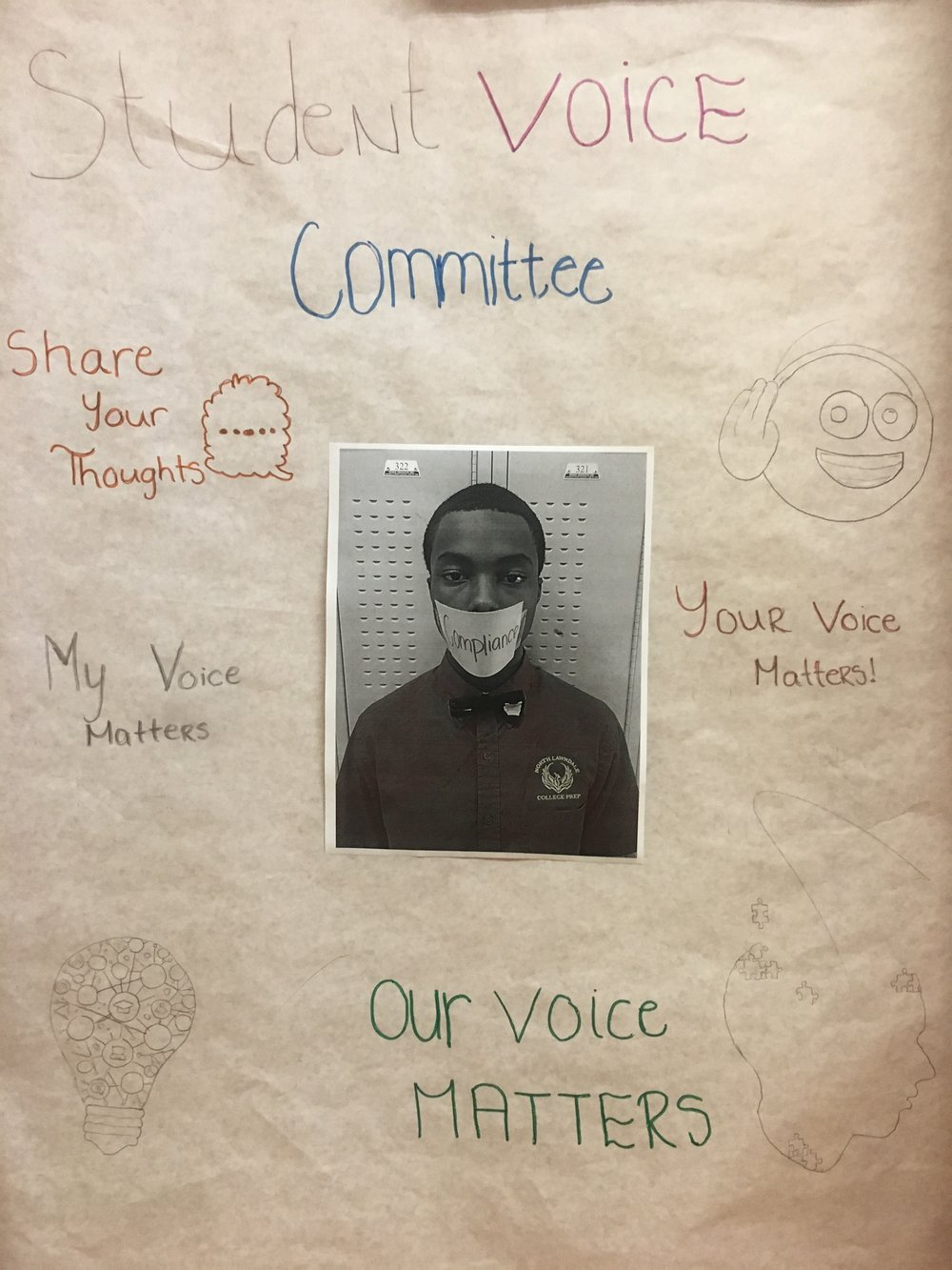 2018 Jacunski_CPS_ NLCP_Hallway_Student Government Voice Sign.JPG