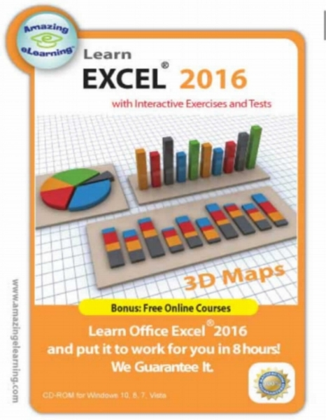 Microsoft Excel 2016 Interactive Training CD Course