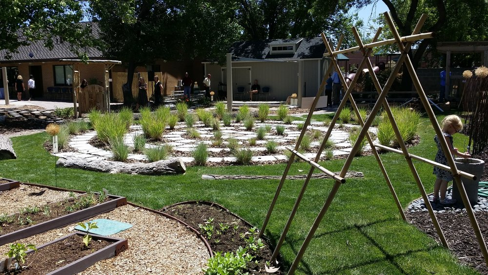 Salt Lake Community College Eccles Childhood Early Childhood Development Center; playground design by Melinda McMillan (Element Studio) and Scott Smith for Method Studio, Inc. (2015)