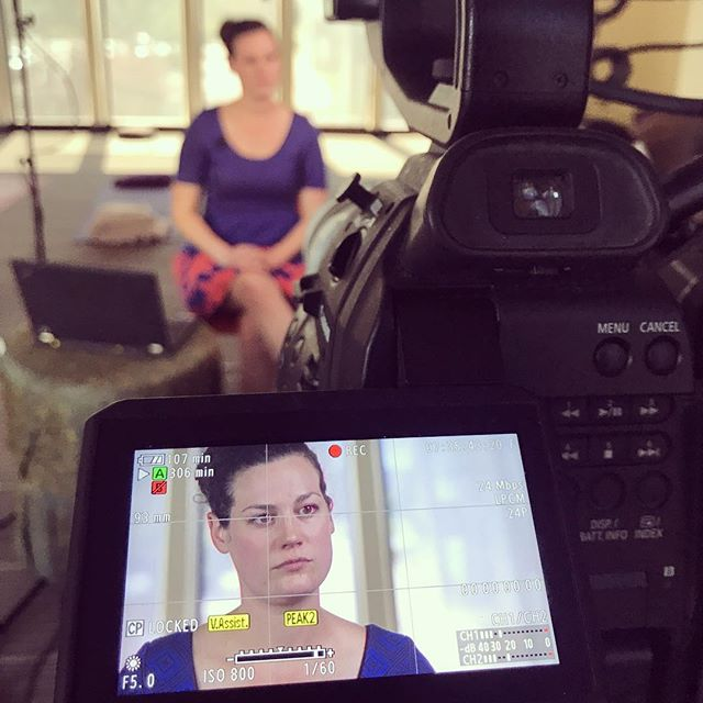 #bts at #organicindia with #nutritionbusinessjournal gathering #contentmarketing on #supplements and #probiotics. #canon #c100 #filmshoot #lighting #naturalproducts #foodandbeverage #organic #interview #filmmaking #boulder #colorado