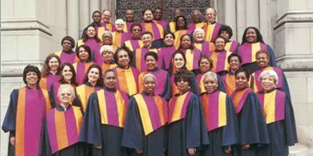 - Featuring the Riverside Church Inspirational Choir singers