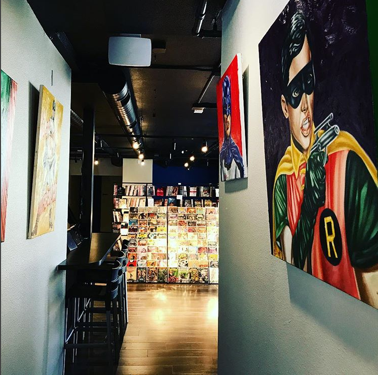 Oblivion Comics and Coffee in Sacramento, Calif.