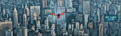 Artwork by John Cassaday with colors by Laura Martin.