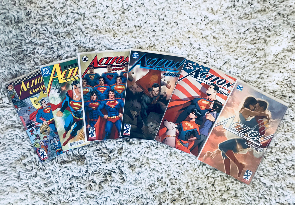No! YOU went overboard with collecting Action Comics #1000 variants!