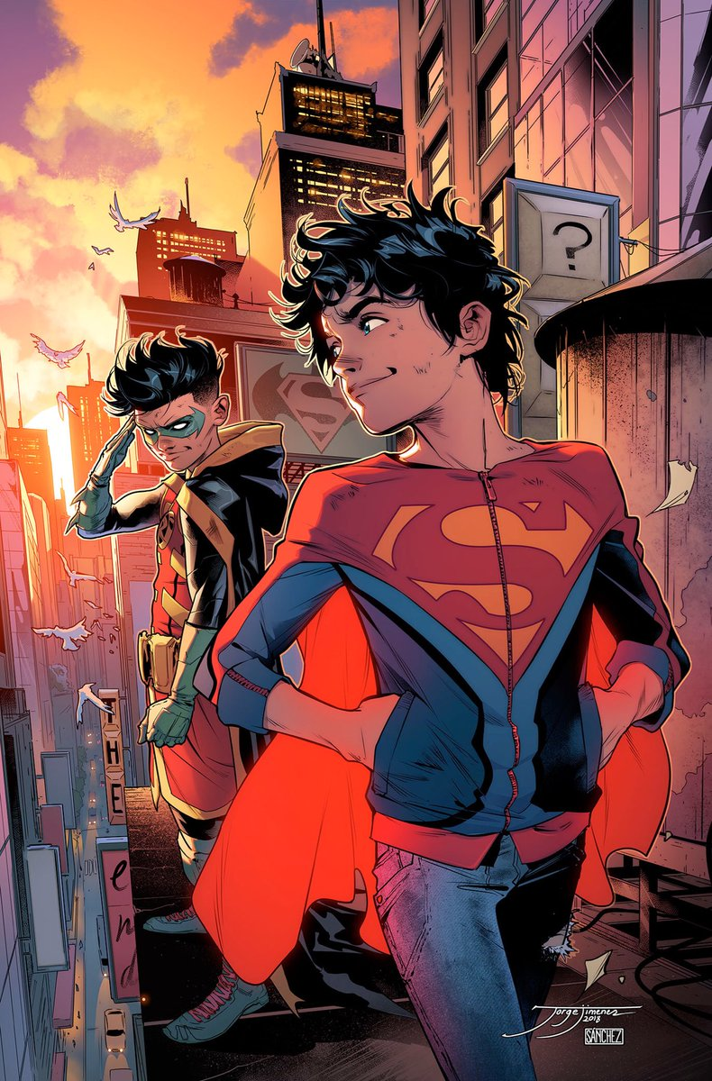 More Jorge Jimenez and Alejandro Sanchez on  Super Sons .