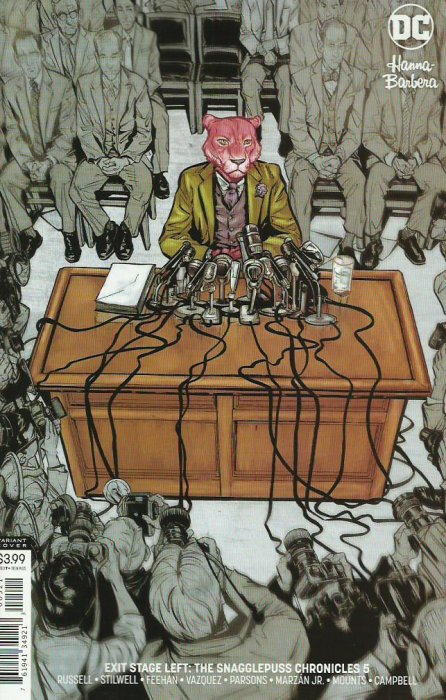 One of the best comics of 2018 is about Snagglepuss. Weird, right?