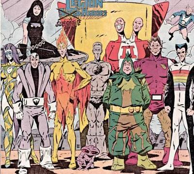 The Legion of Substitute Superheroes.