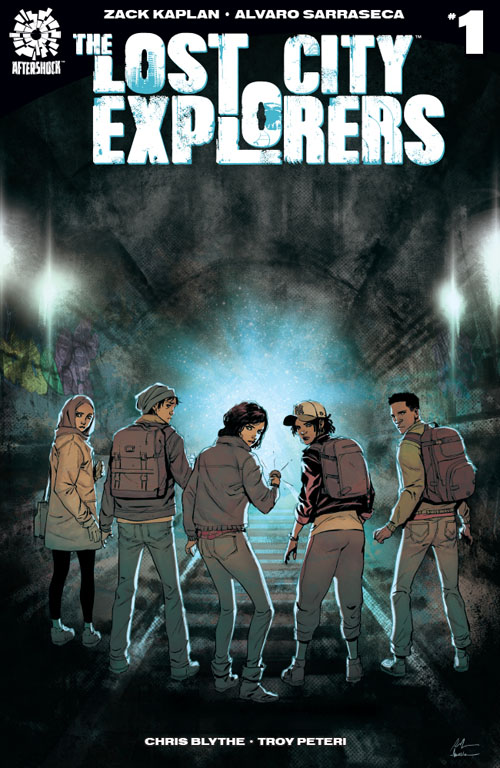 Lost City Explorers #1  is out June 20.