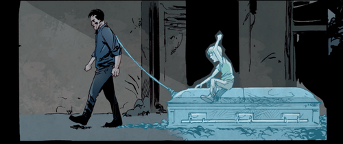 Three issues in, Steve Orlando and Garry Brown are doing career best work on the haunting father-son story,  Crude.
