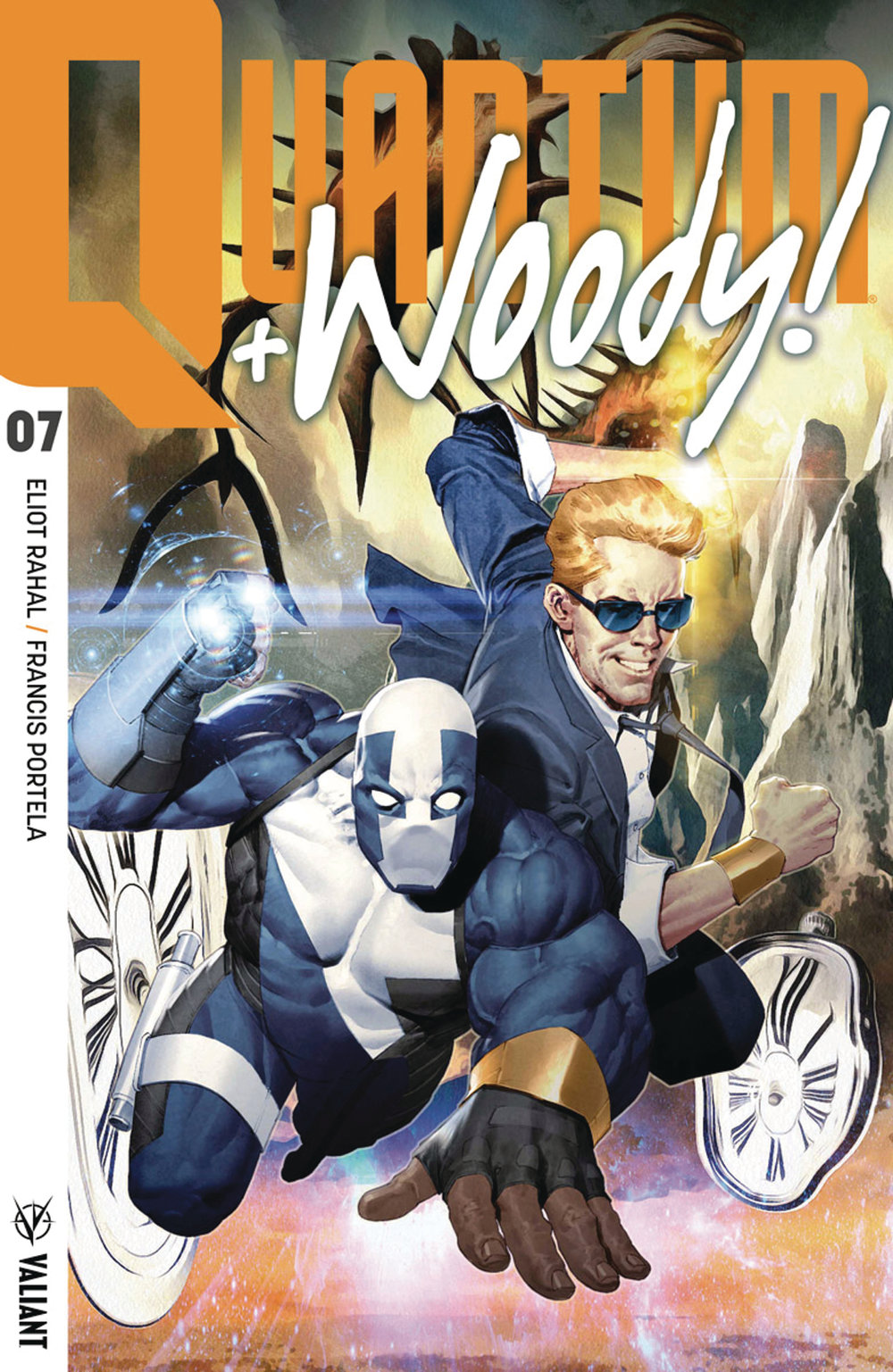 Quantum and Woody #7  is a bold issue.