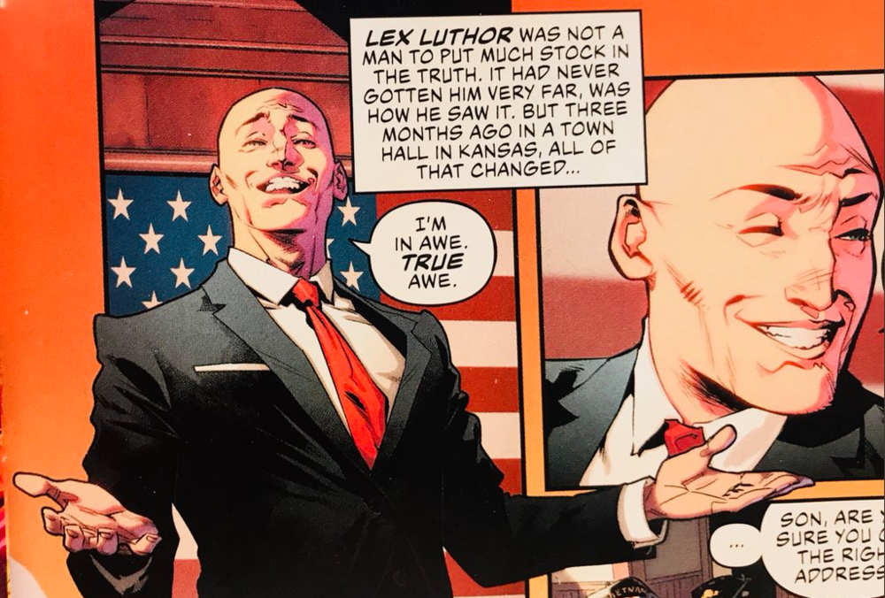 One of the strengths of  Justice League so far has been the characterization of Lex Luthor.