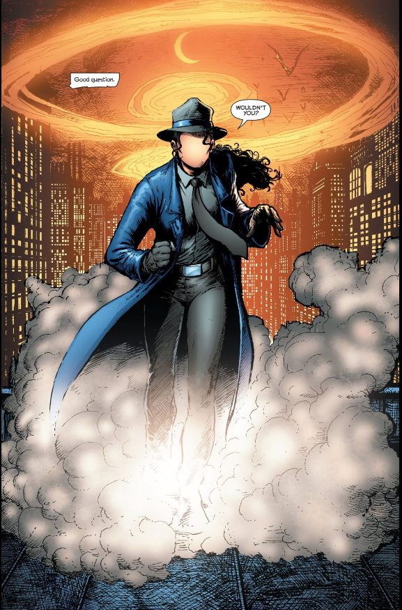 Renee Montoya as The Question.