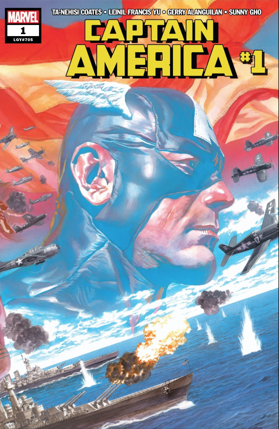 Captain America #1  is easily Ta-Nehisi Coates' best single issue yet.