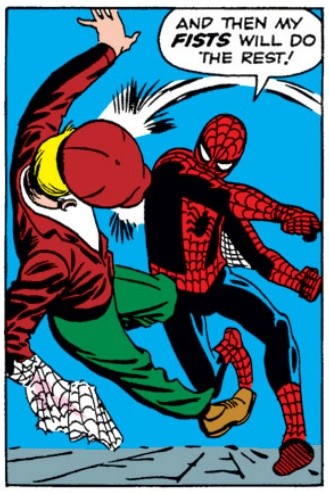Spider-Man as drawn by co-creator Steve Ditko was less muscle-bound than the version we often see today.