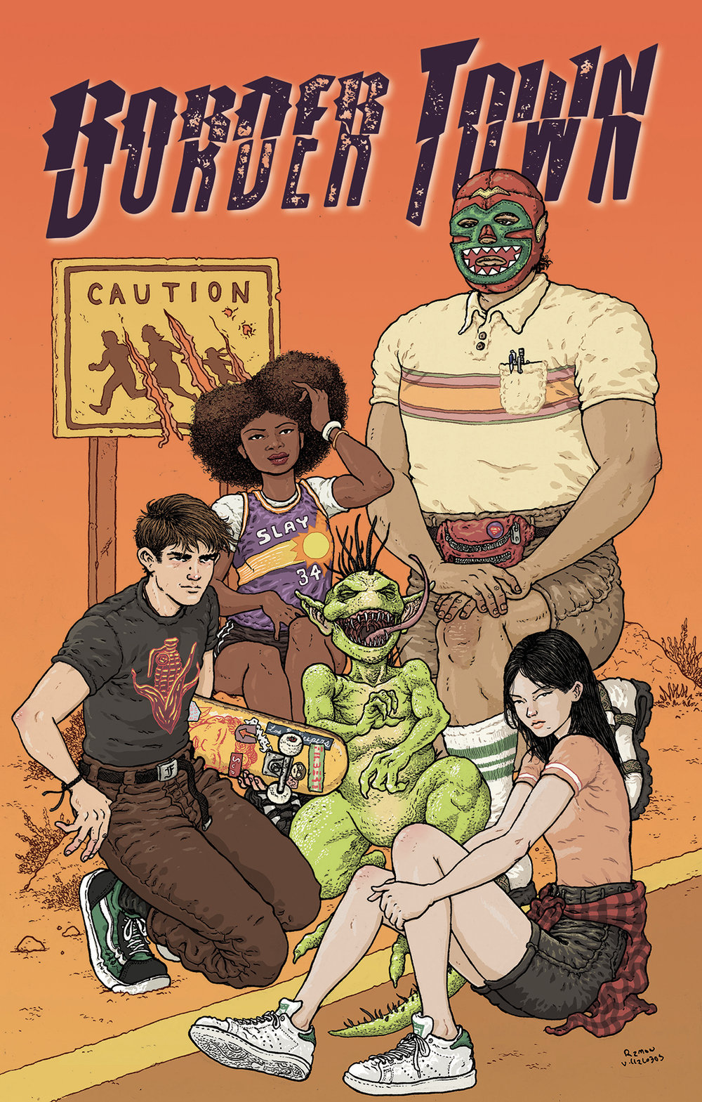 Border Town #1  is available Sept. 5, 2018.