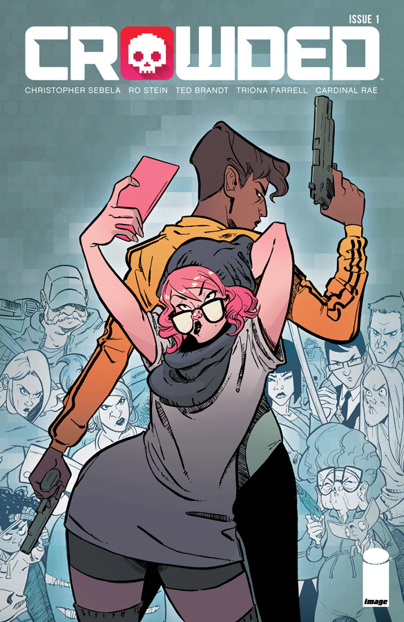 Crowded #1  is a much-hyped comic that does not dissappoint.