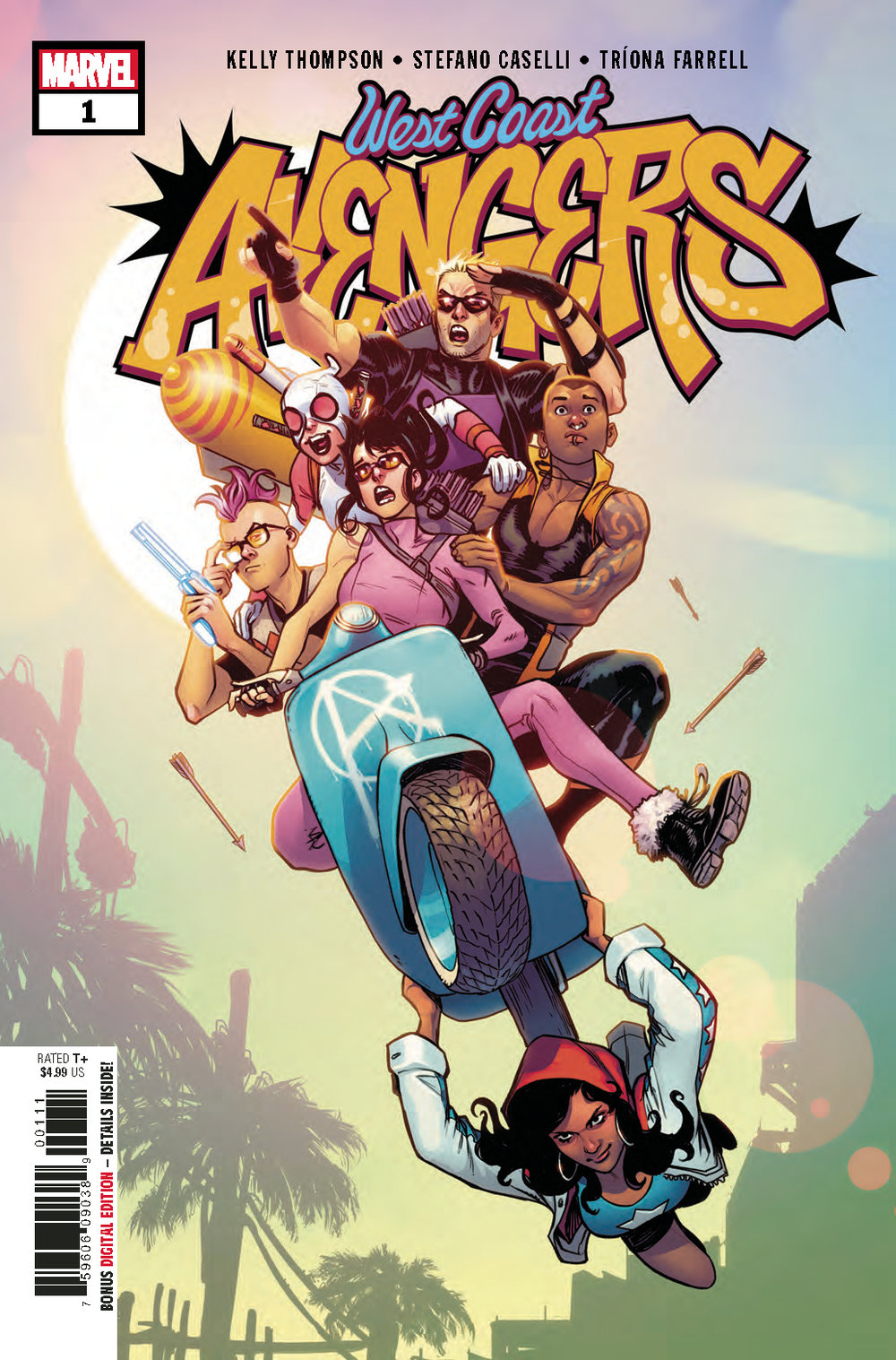 West Coast Avengers #1  is out Aug. 22.