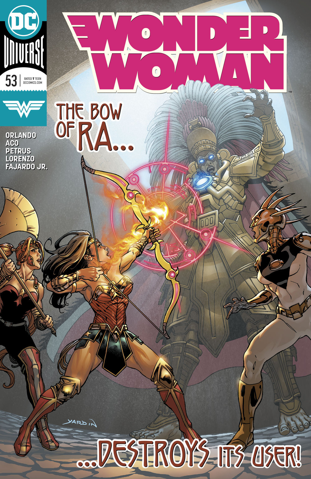 Wonder Woman #53  is out Aug. 22, 2018.