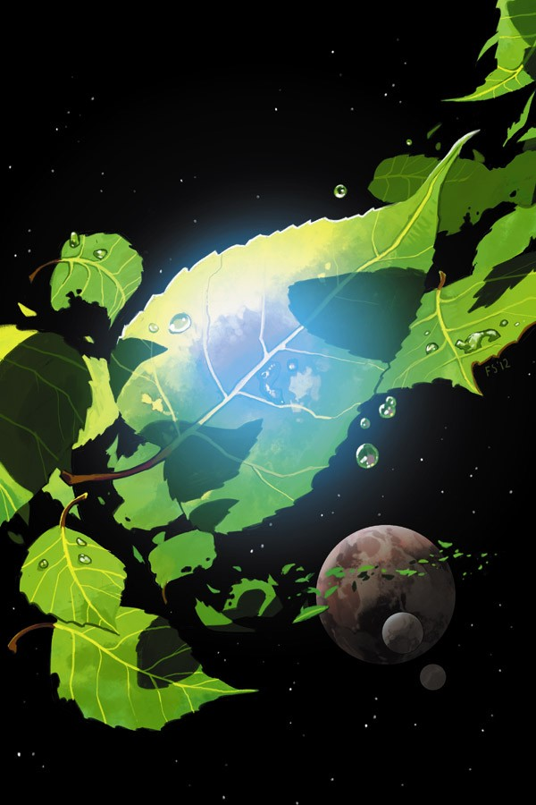 The cover for  Saga #6.