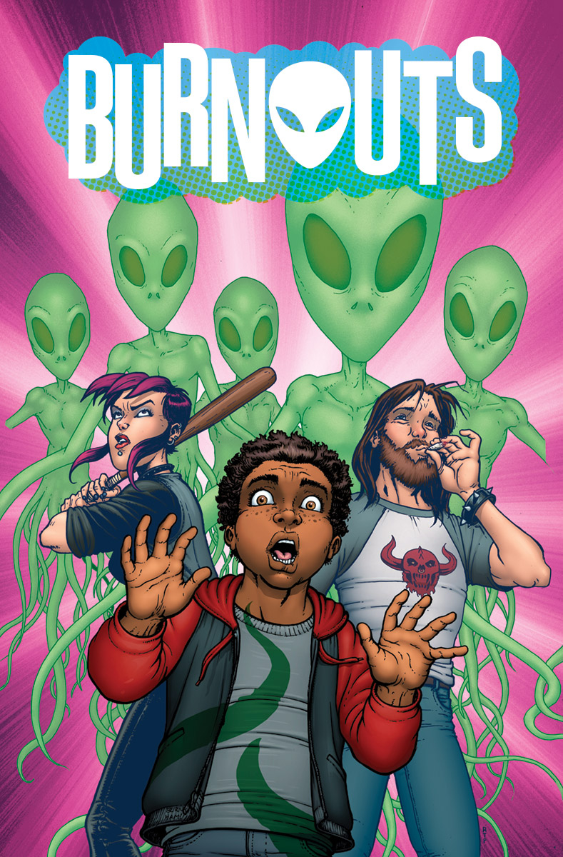 Burnouts #1  is out 9/19.