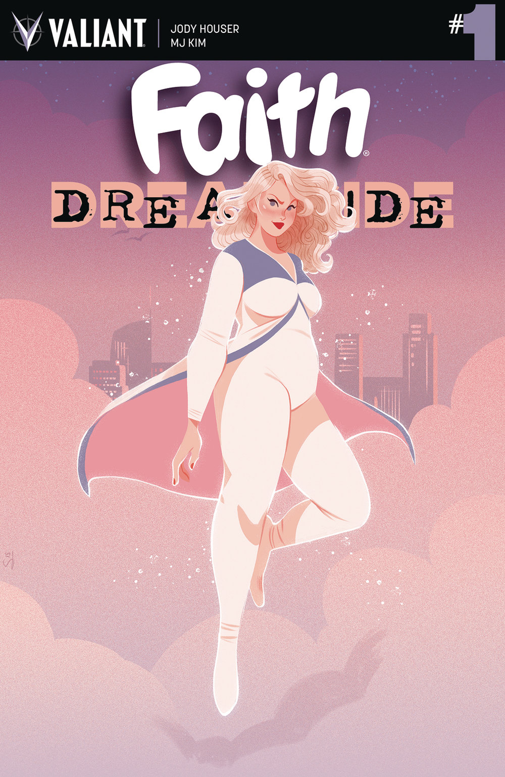 Faith: Dreamside #1  cover by Sibylline Meynet.