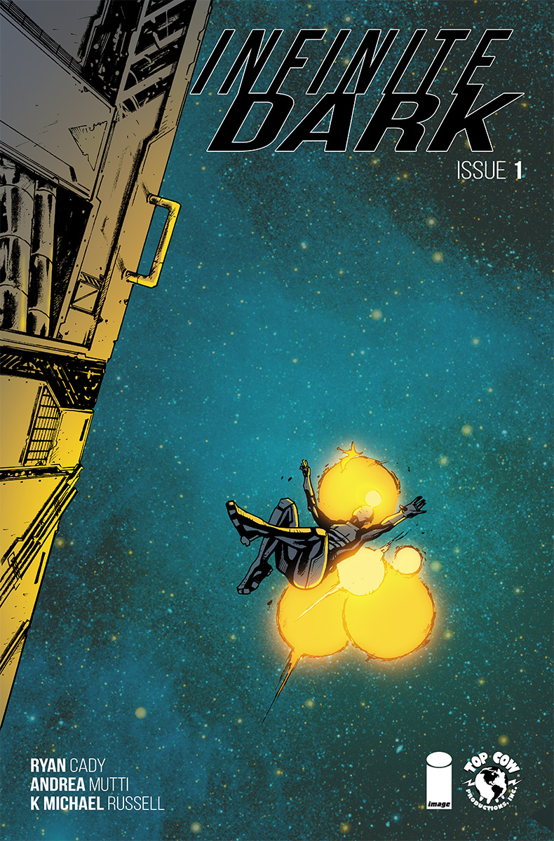 Infinite Dark #1  is out 10/10.