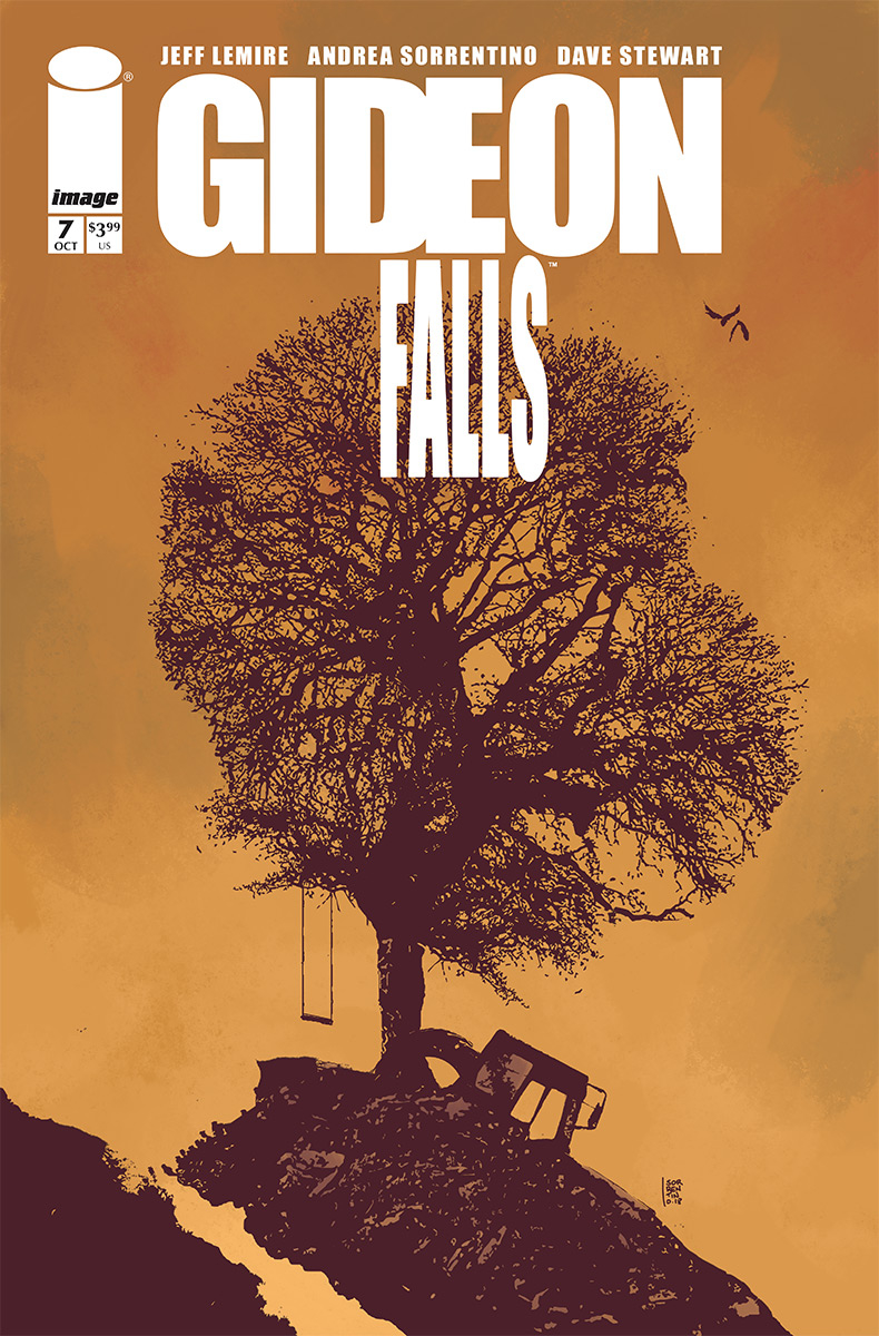 Gideon Falls #7  is out 10/17.