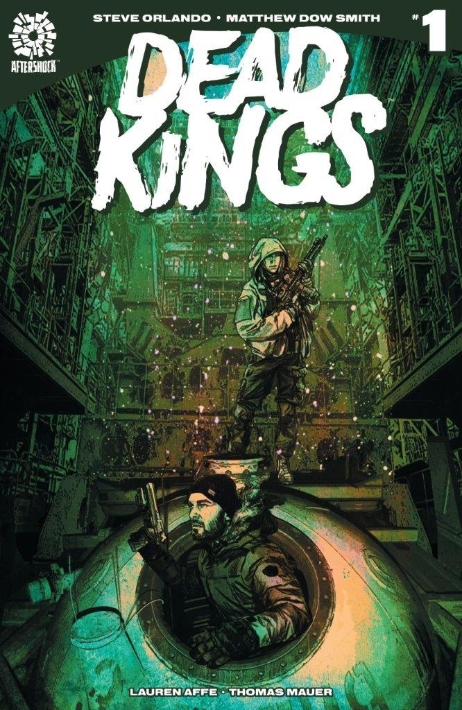 Dead Kings #1  is due out Oct. 24. Variant cover by Michael Gaydos.
