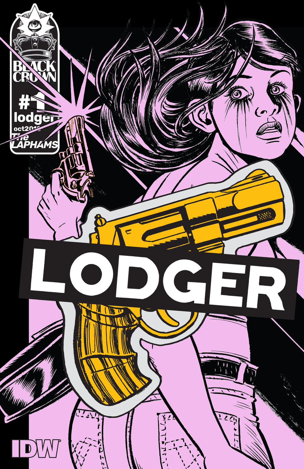 The Lodger #1  is out 10/24.
