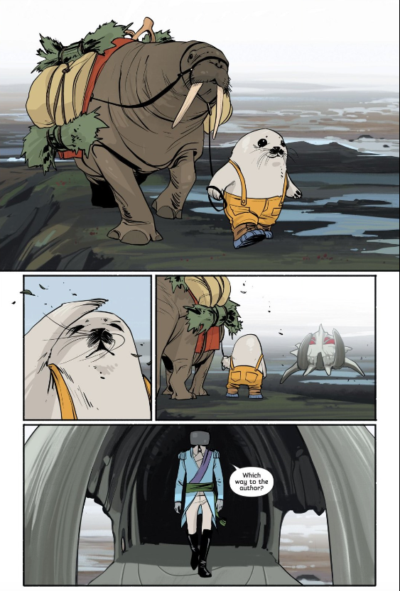 Saga #12  features the first appearance of Ghus.
