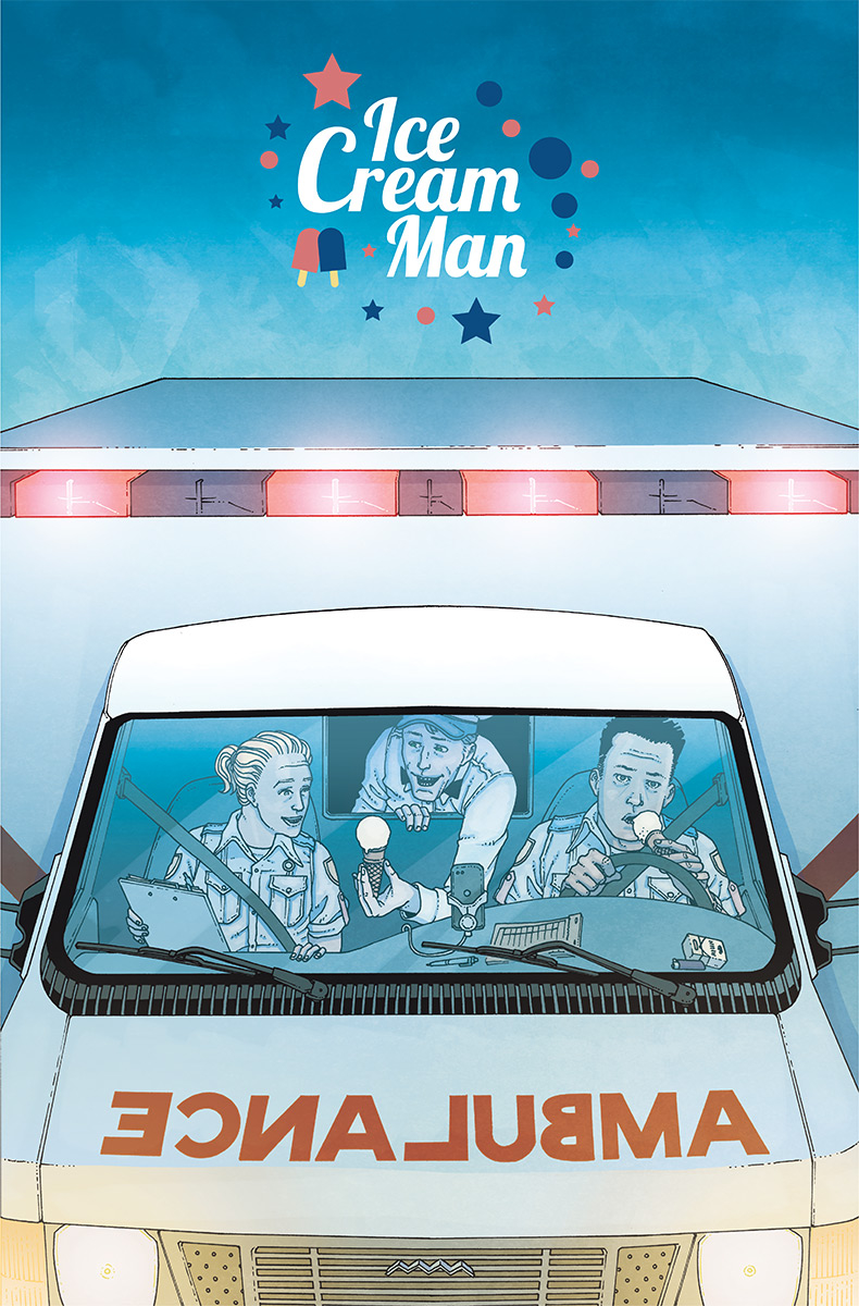 Ice Cream Man #8  is out 10/31.