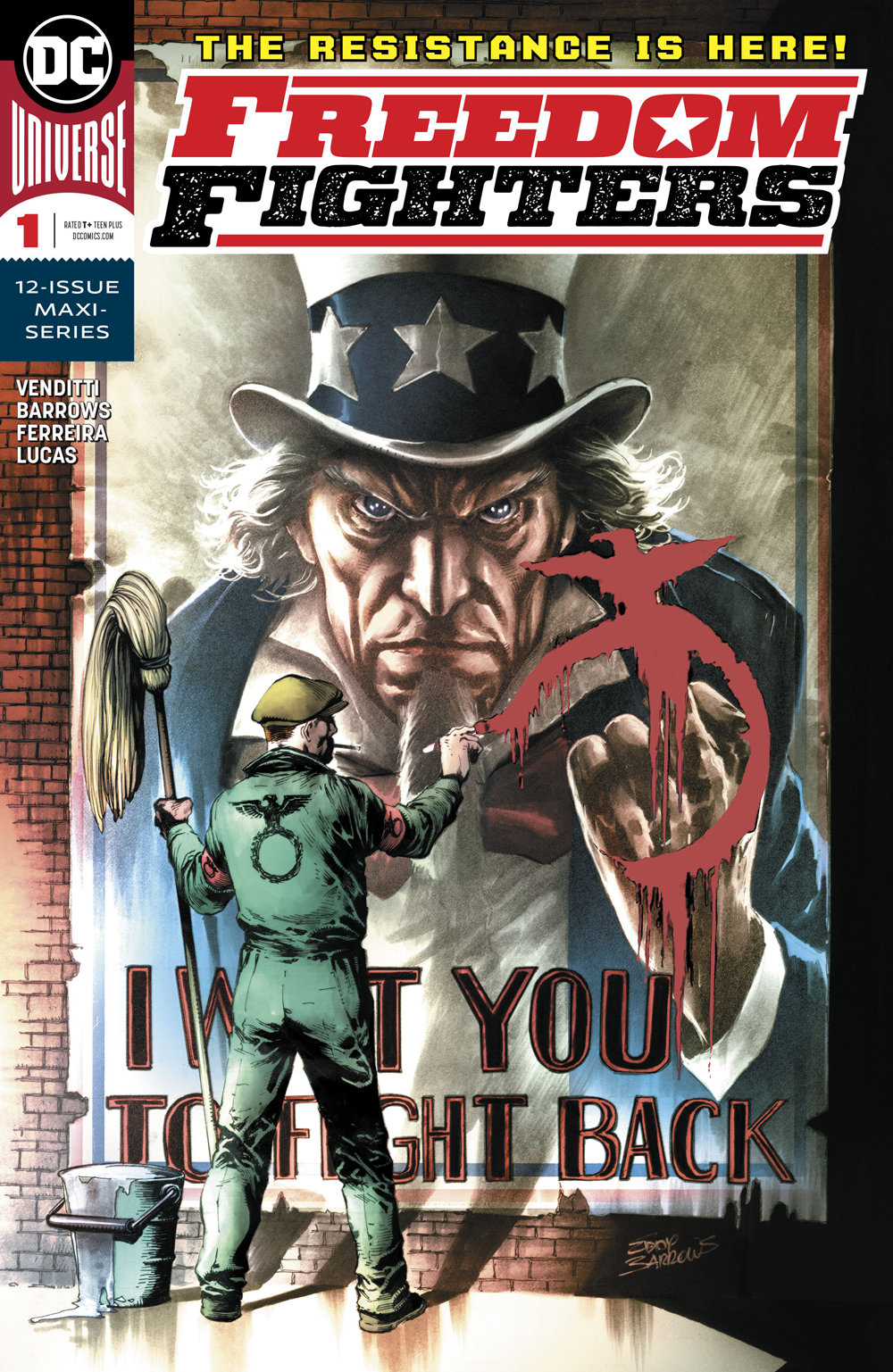 Freedom Fighters #1  is out 12/19.