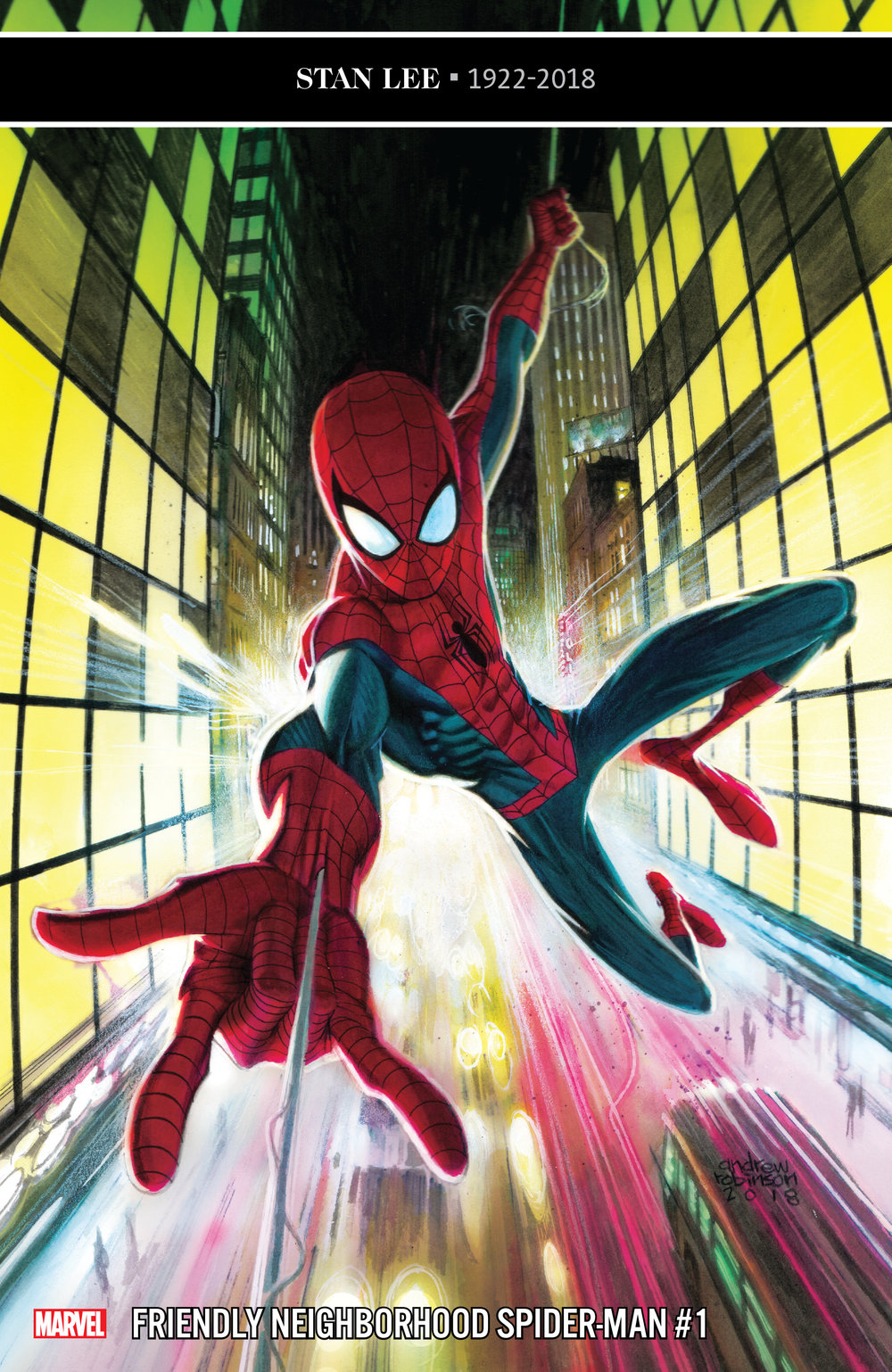 Friendly Neighborhood Spider-Man #1  is out 1/9/2019.