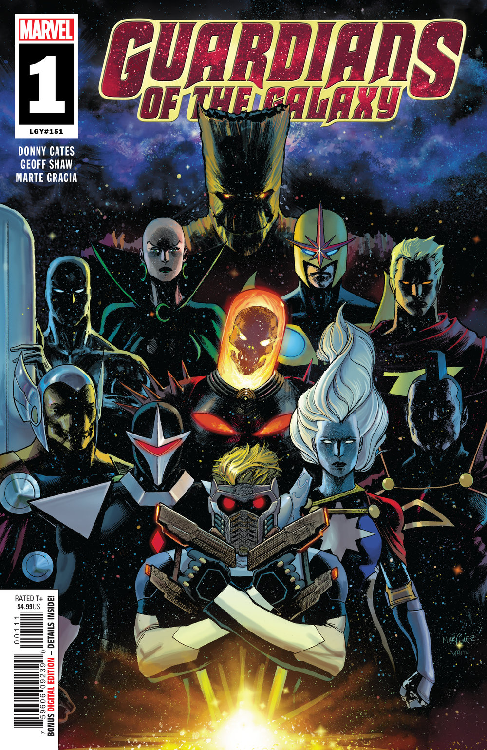 Guardians of the Galaxy #1  is out 1/23/2019.