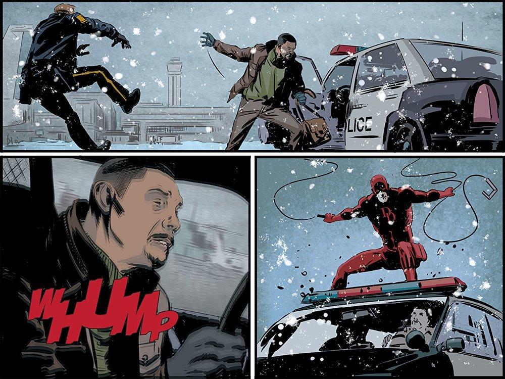 From  Daredevil: Road Warrior.