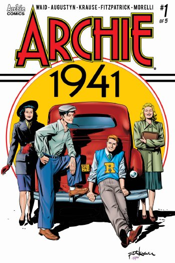 The first four issues of  Archie 1941  are available now.
