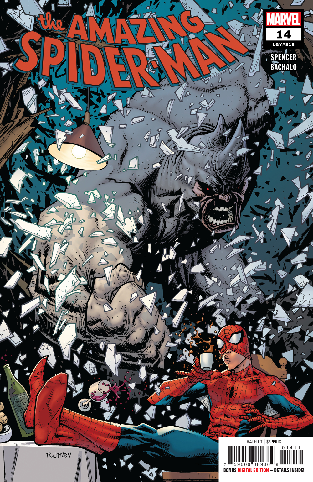 Amazing Spider-Man #14  is out 1/30/2019.
