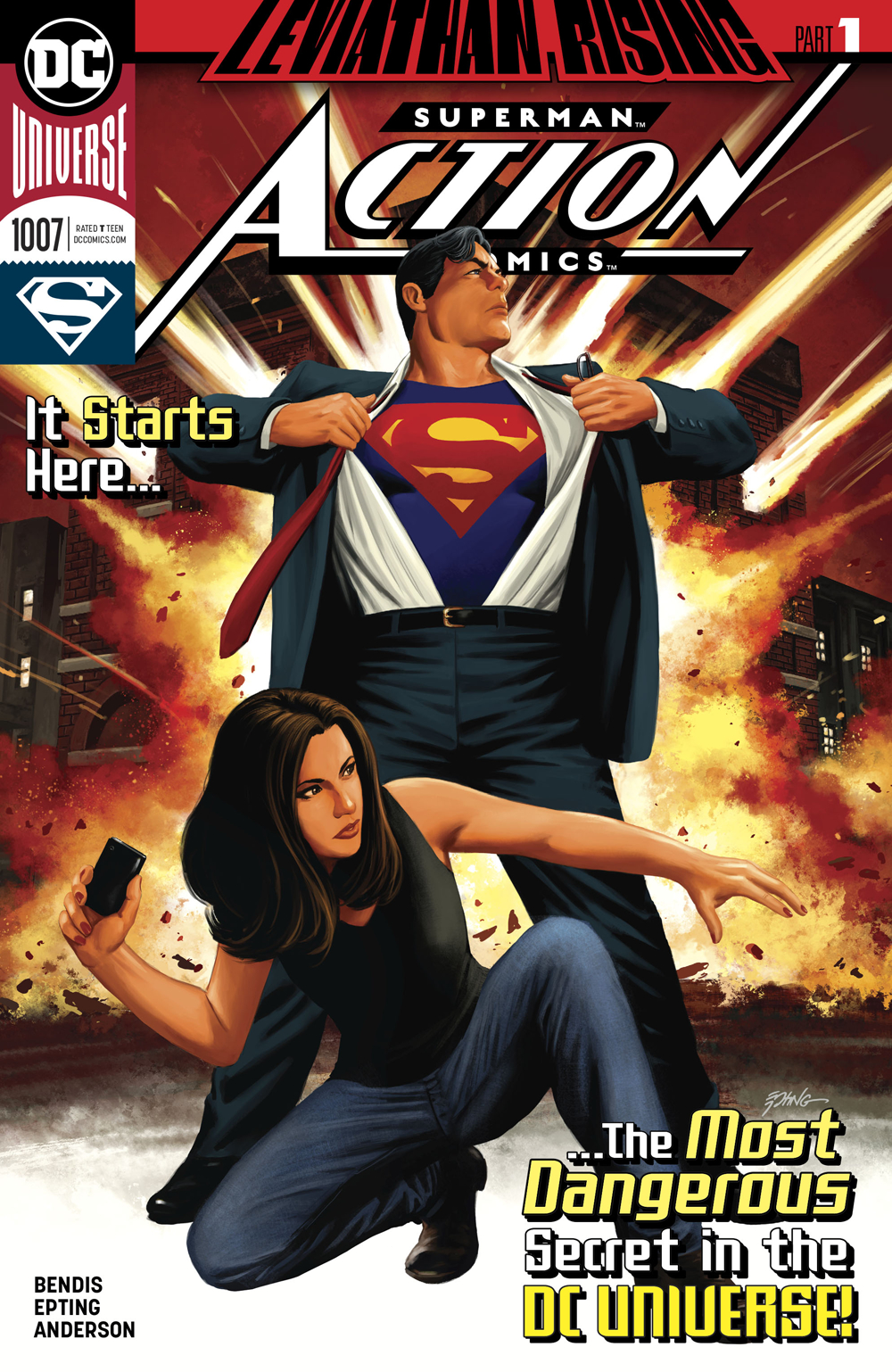 Action Comics #1007  came out 1/30/2019.