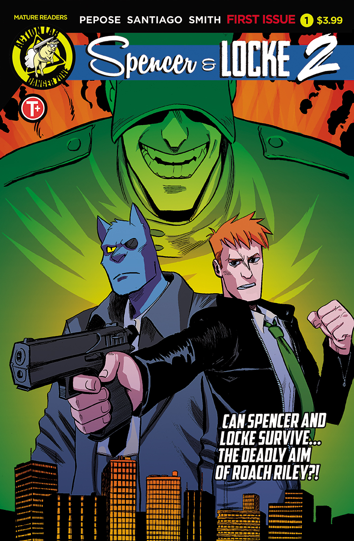Spencer & Locke Vol. 2 #1  is out 4/24/2019 and can be pre-ordered now at your local comic shop.