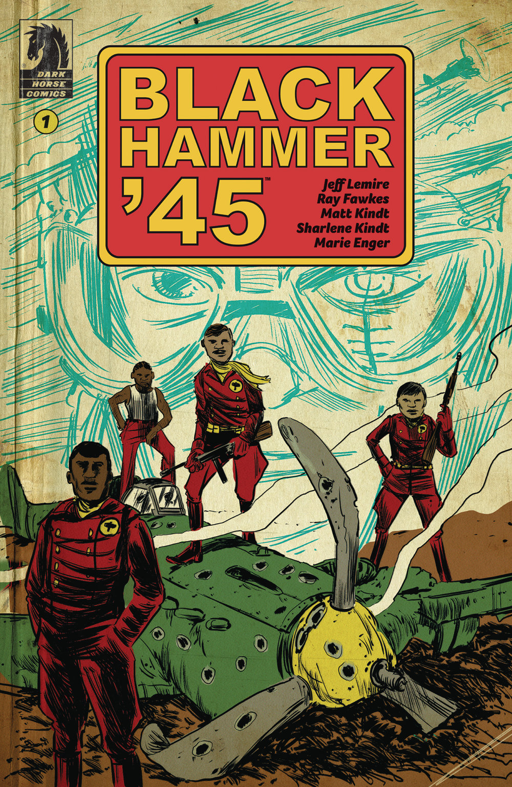 Black Hammer '45 #1  is out 3/6/2019.